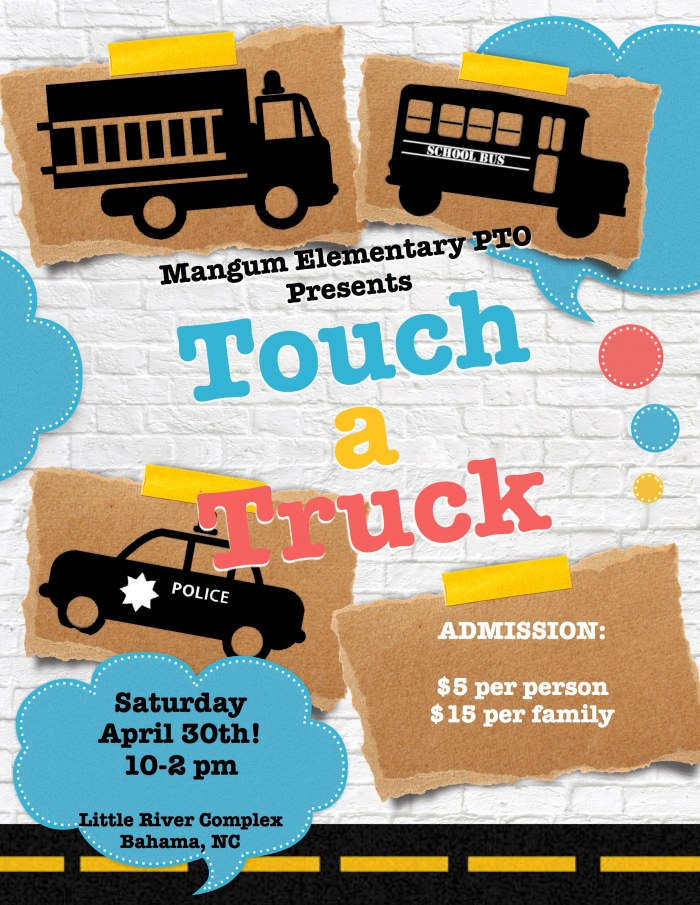 touch a truck flyer